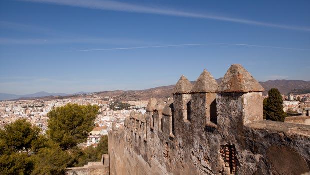 Gibralfaro-malaga-kasteel