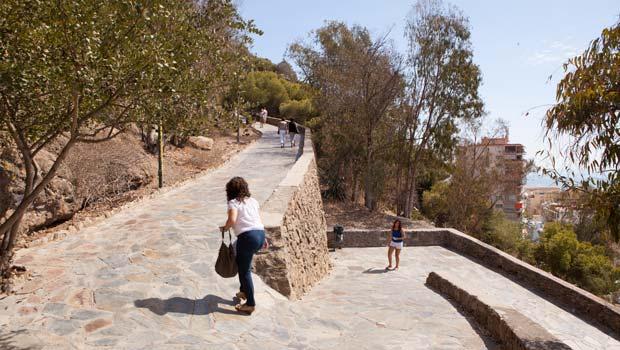 Kasteel Malaga wandelpad