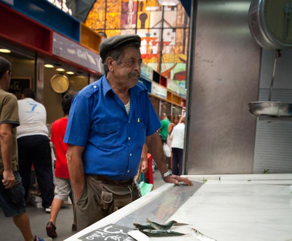 Markt Malaga - vakantie Malaga