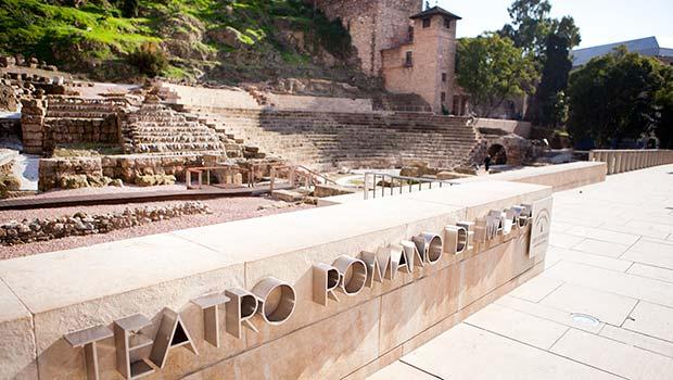 Romeins theater Malaga