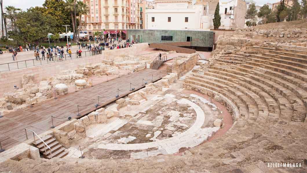 Romiens theater Malaga - vakantie Malaga