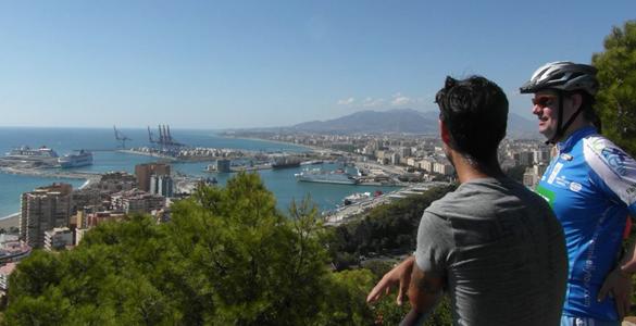 Sportief fietsen in Málaga met geweldig uitzicht