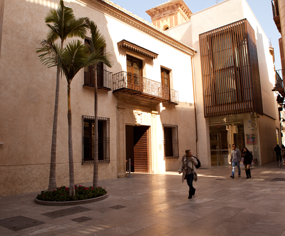 Entree Carmen Thyssen museum Malaga