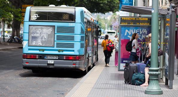 Openbaar vervoer in Málaga - de bus