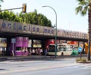 Busstation Malaga centrum