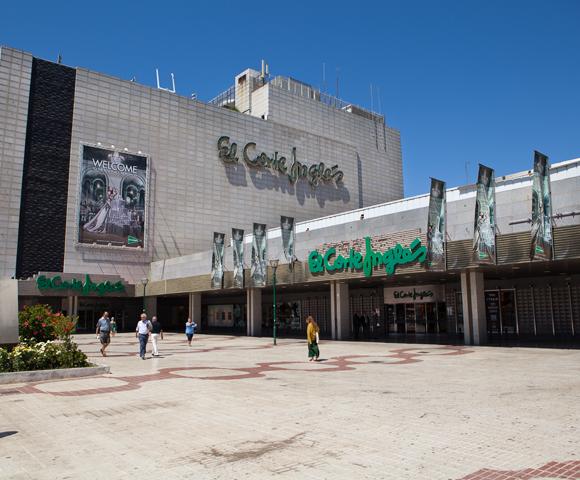 El Corte Ingles – warenhuis in Málaga