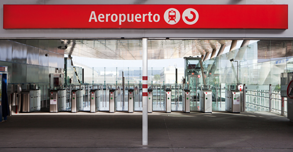 Malaga station vliegveld