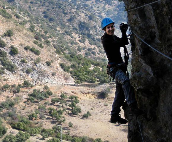 Klimmen in Andalusie