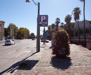 Parkeren in het centrum van Málaga