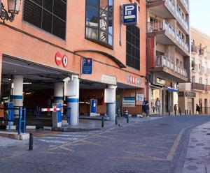 Parkeren historisch centrum Malaga