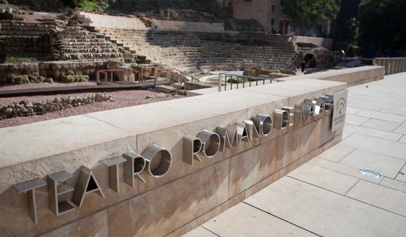 Malaga bezienswaardigheden - Romeins theater