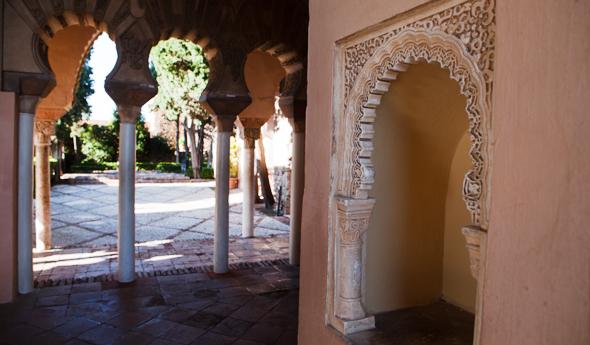 Bezienswaardigheden Malaga - Alcazaba Malaga