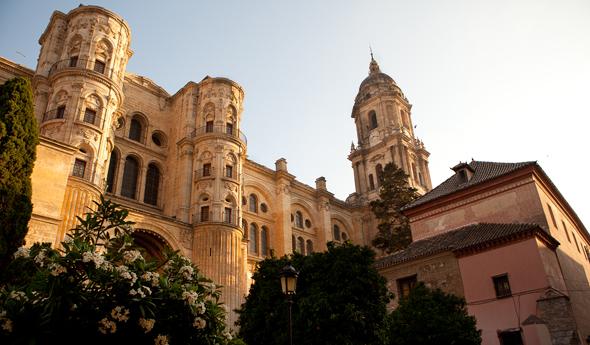 Malaga bezienswaardigheden - kathedraal Malaga