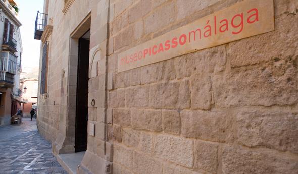 Malaga bezienswaardigheden -  Picasso museum Malaga