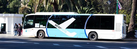 Bus Málaga airport - vliegveld Malaga