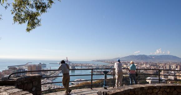 Tips voor een mooi uitzicht over Málaga