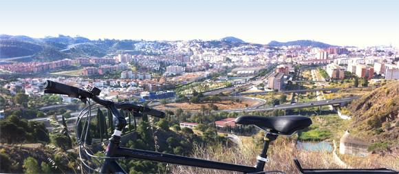 Tips Malaga uitzicht vanaf het Noorden