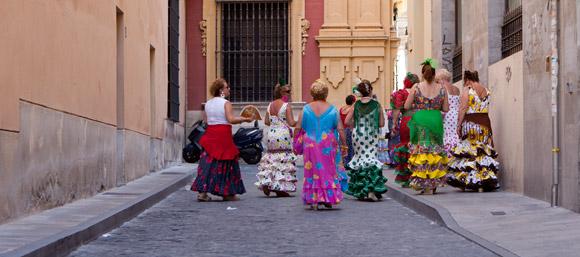 Feria de Málaga - traditionele kleding