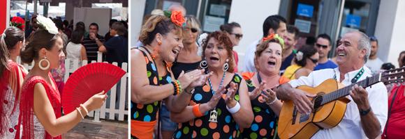 Feria de Málaga - dans en muziek