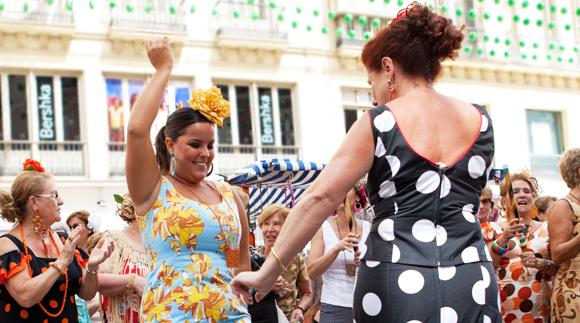 Flamenco tijdens feria de m laga 2013 beleef malaga for Feria outlet malaga 2017