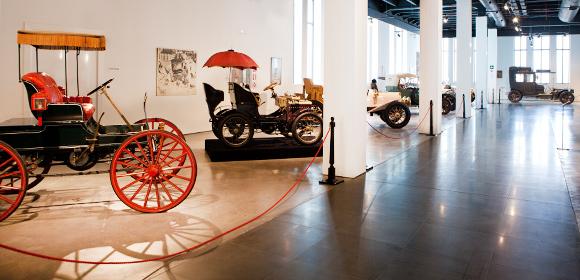 Automuseum Málaga - oude auto's