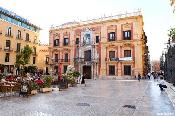 10 bekende pleinen in Málaga centrum
