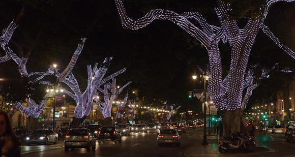 Kerstverlichting Malaga - Alameda Principal