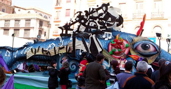 Carnaval Malaga - vakantie Malaga