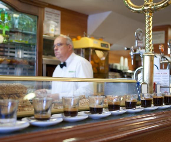 Zo bestel je de koffie in Málaga
