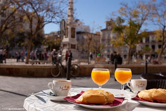 Ontbijt Málaga – Ontbijten buiten de deur