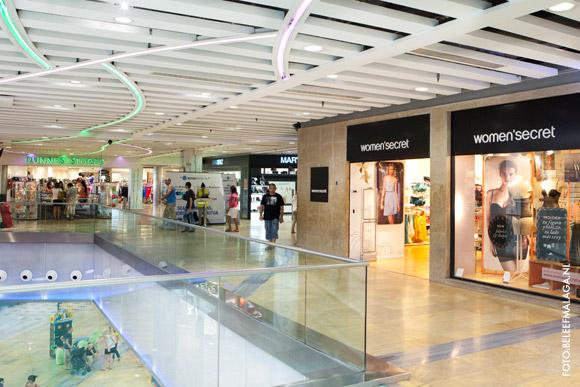Winkelcentra in Málaga