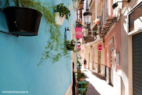 Malaga vakantie - straatje