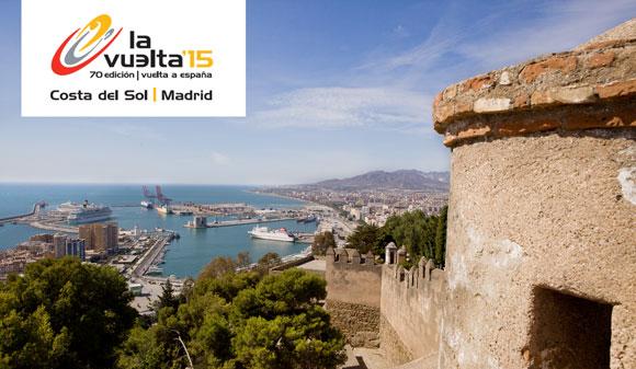 Vier etappes Vuelta de España in Málaga