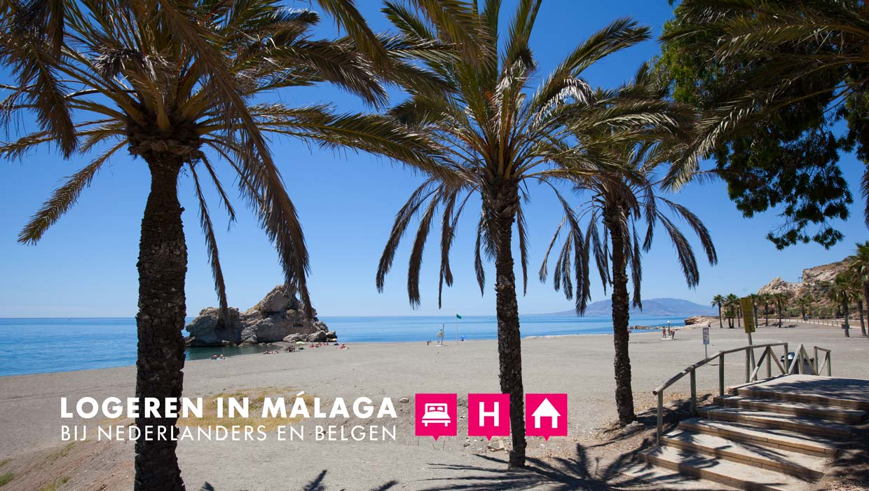 Op vakantiein Málaga bij Nederlanders en Belgen