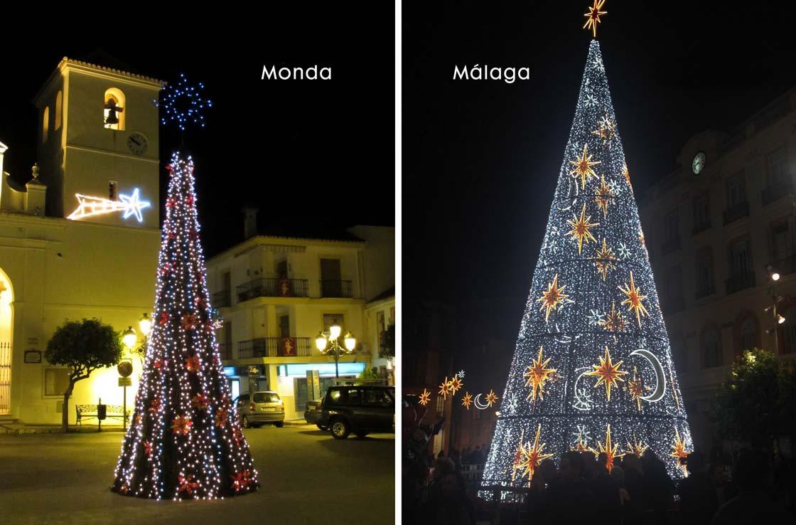 Malaga kerst - omgeving Malaga