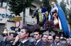 Verplaatsing beelden Málaga centrum. Traslados Semana Santa 2019