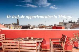 Appartementen in Málaga centrum – De 10 leukste vakantie appartementen