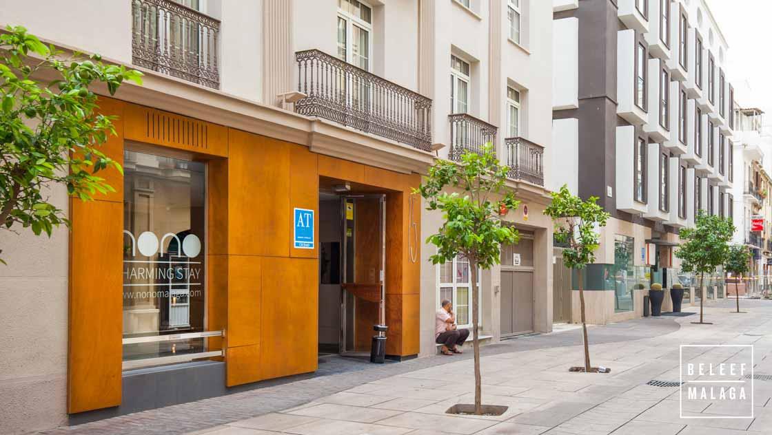 Appartement Málaga centrum vakantie