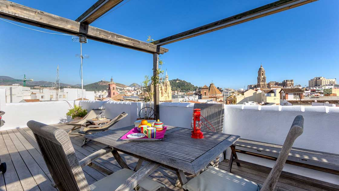 Appartement Malaga centrum