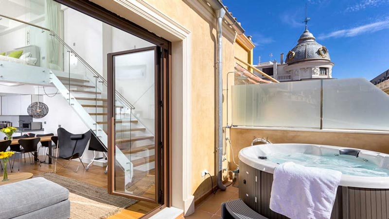 Luxe Vakantieappartement Malaga centrum