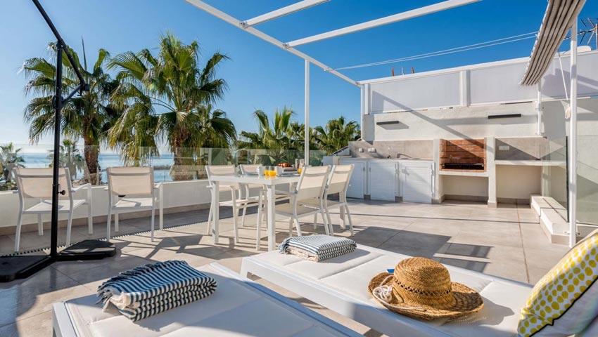 Luxe vakantieappartement Malaga strand