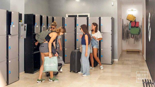 bagagekluizen malaga - kofferopslag