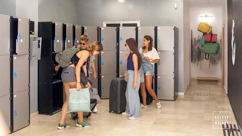 Bagagekluizen/ luggage lockers Málaga, hier kun je ze vinden