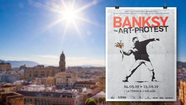 Banksy Malaga expositie