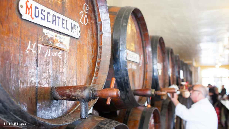 Oude bodega bar – Málaga wijn proeven!