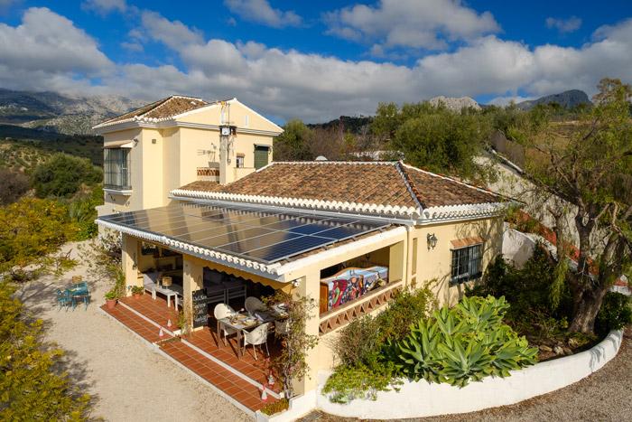 Bed breakfast omgeving Malaga