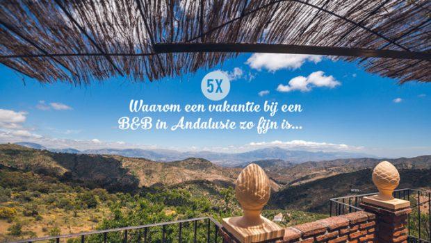 Bed en breakfast Andalusie Spanje
