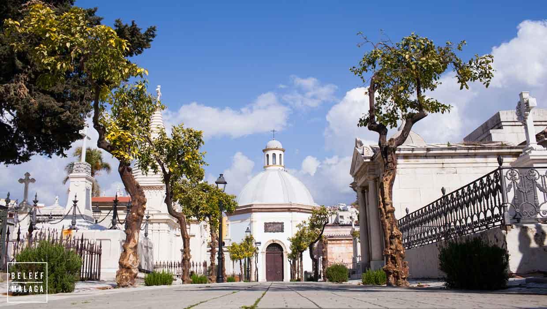 Mooie begraafplaats in Málaga – Cementerio de San Miguel