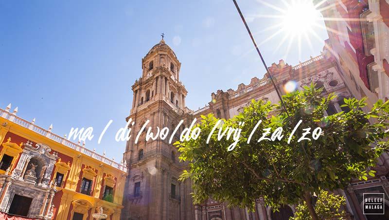 Wat is de beste dag om Malaga te bezoeken?