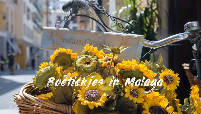 Boetiekjes in Málaga en andere leuke winkels